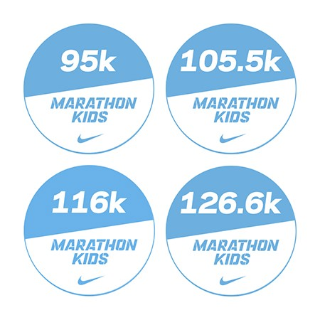 Marathon 3 Stickers Bundle