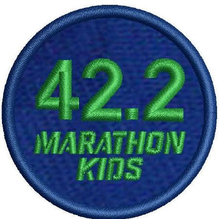 Marathon 1 Embroidered Patch (x10)