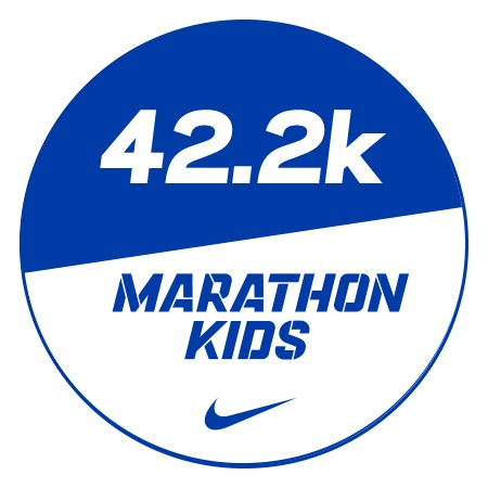 Marathon 1 Stickers x48 42.2km