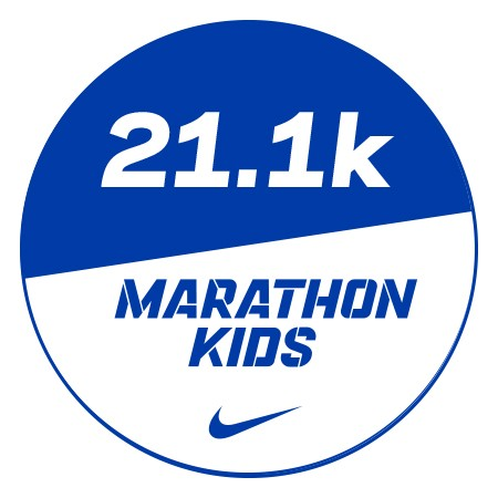Marathon 1 Stickers x48 21.1km