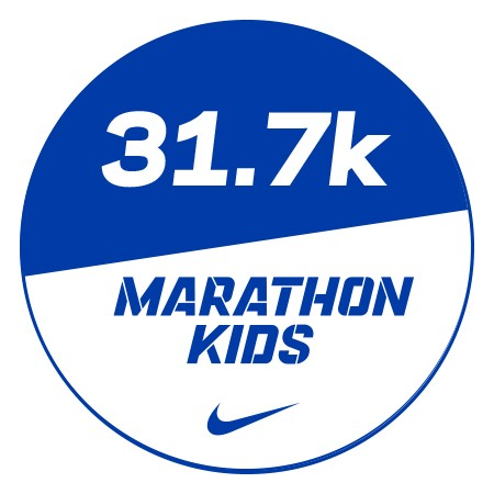Marathon 1 Stickers x48 31.7km