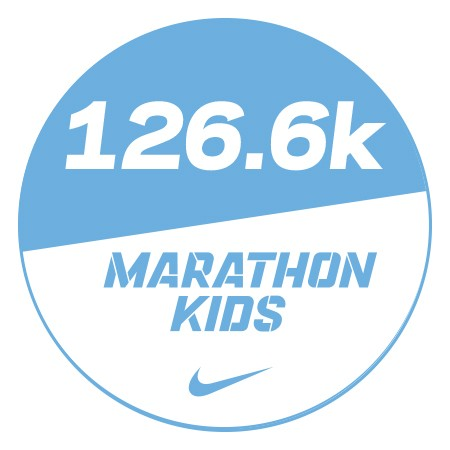 Marathon 3 Stickers x48 126.6km