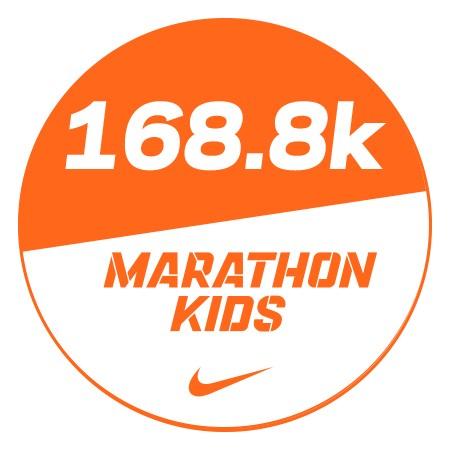 Marathon 4 Stickers x48 168.8km