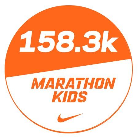 Marathon 4 Stickers x48 158.3km