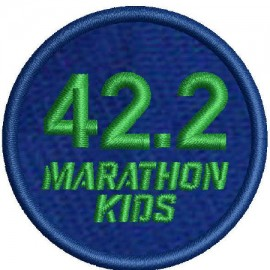 Marathon 1 Embroidered Patch (x10)