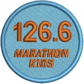 Marathon 3 Embroidered Patch