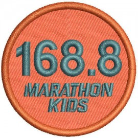 Marathon 4 Embroidered Patch