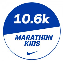 Marathon 1 Stickers x48 10.6km