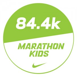 Marathon 2 Stickers x48 84.4km