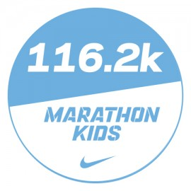 Marathon 3 Stickers x48 116.2km
