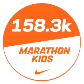 Marathon 4 Stickers x48 158.3km