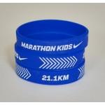 Half Marathon Silicone Wristbands
